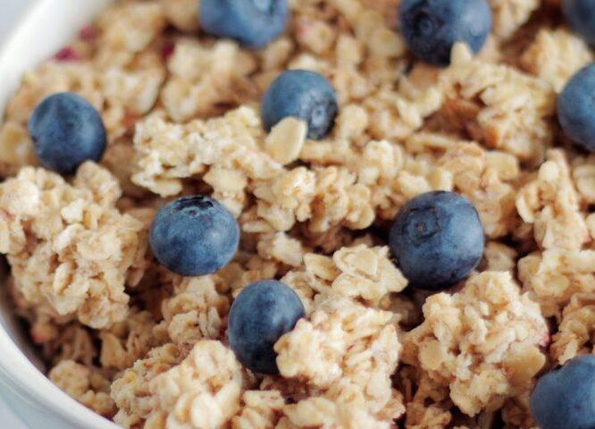 blueberry bowl breakfast