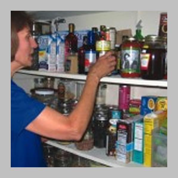Peggy's Shelf of Food